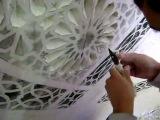 Создание горельефа на штукатурке своими руками
